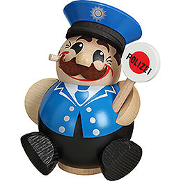 Smoker Policeman  -  12cm / 5 inches