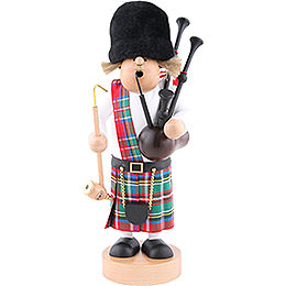 Smoker Scotsman with bagpipe  -  29cm