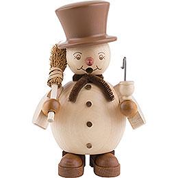 Smoker Snowman  -  14cm / 6 inch