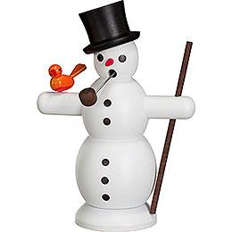 Smoker Snowman  -  16cm / 6 inch