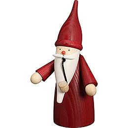 Smoker Traditonal Gnome red  -  16cm / 6 inch