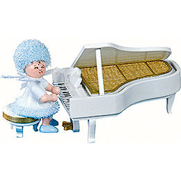 Snowflake on the Piano  -  5cm / 2 inch