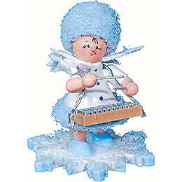 Snowflake with xylophone  -  5cm / 2inch