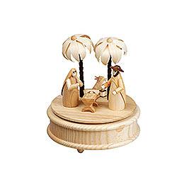 Spieldose Heilige Familie  -  17cm