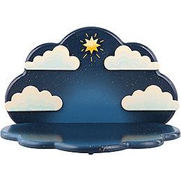 Standing Angel cloud hanging  -  23x14x14cm / 9x5,5x5,5inch