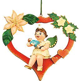 Tree Ornament  -  Angel - Heart - Doll 10cm / 4 inch