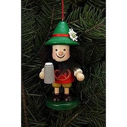 Tree Ornament  -  Bavarian  -  10,5cm / 4 inch