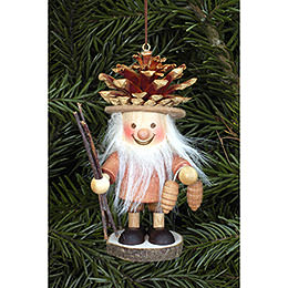Tree Ornament  -  Coneman Natural  -  10,5cm / 4 inch