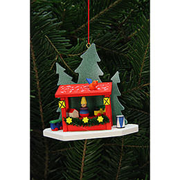 Tree Ornaments Strizelmarkt Booth  -  9,2x8,7cm / 4x3 inch