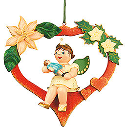 Tree ornament Angel - Heart - Doll 10cm / 4inch