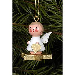 Tree ornament Angel on Star  -  2,9 x 3,0cm / 1 x 1 inch