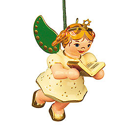 Tree ornament Angel with Songbook 6cm / 2,5inch