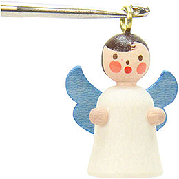 Tree ornament Angel (without thread)  -  1,8 / 2,7cm  -  1 x 1 inch