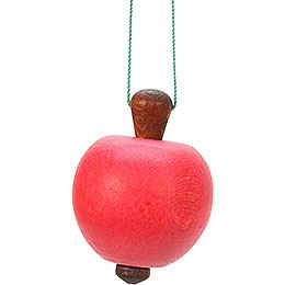 Tree ornament Apple  -  3,0 x 4,7cm / 1 x 2 inch