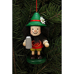 Tree ornament Bavarian  -  10,5cm / 4 inch