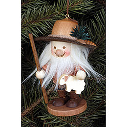 Tree ornament Herdsman natural  -  10cm / 4 inch