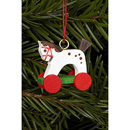 Tree ornament Horse Mini  -  2,5 / 2,2cm  -  1 x 1 inch