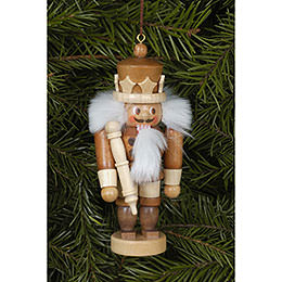 Tree ornament King natural  -  10,5cm / 4 inch