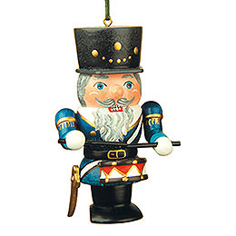 Tree ornament Nutcracker drummer  -  7cm / 3inch