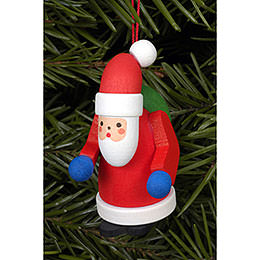 Tree ornament Santa Claus  -  2,5 x 5,0cm / 1 x 2 inch