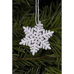 Tree ornament Snowflakes  -  3,5 x 3,5cm / 1 x 1 inch