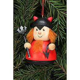 Tree ornament Teeter man Teufelchen  -  7,0cm / 2.8inch