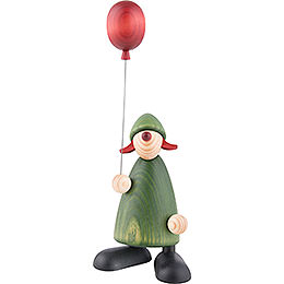 Well - wisher Lina with balloon  -  17cm / 6.7inch