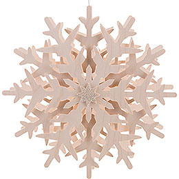 Window pictures snow crystal (1)  -  29cm / 11.4inch