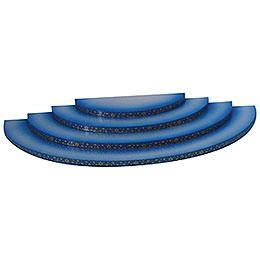 Wolke  -  4 - stufig  -  blau  -  43x20x4cm
