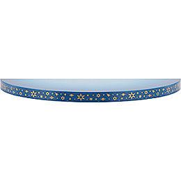 Wolke blau - weiß  -  19cm